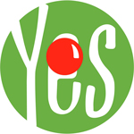 Yes Response logo with a red nose